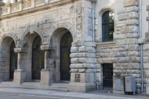 Amtsgericht Leipzig Eingangsportal